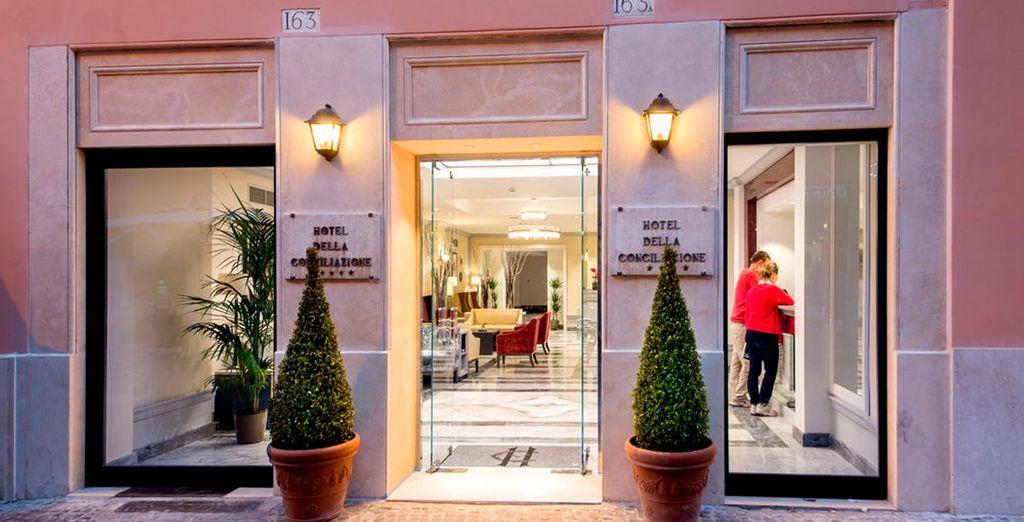 Bienvenido a tu hotel en el corazón de Roma