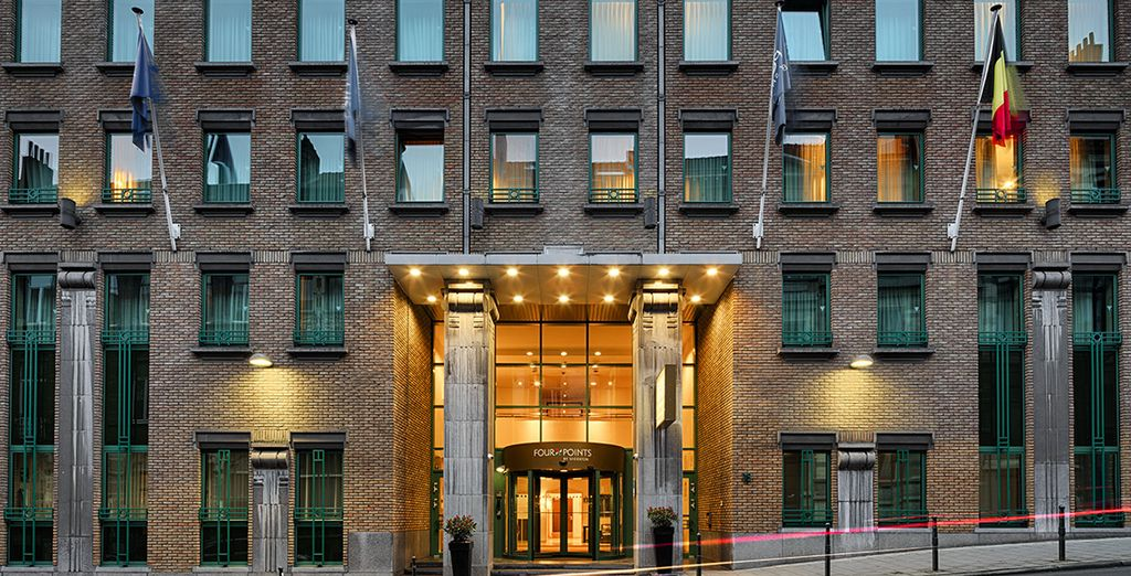 Bienvenido al Four Points by Sheraton Hotel Brussels