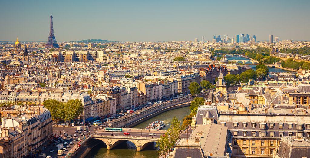 Te deseamos una excelente estancia en París