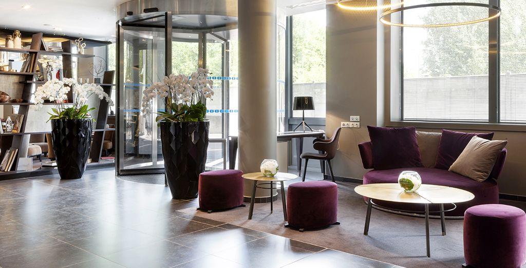 Un alojamiento moderno con una excelente ubicación