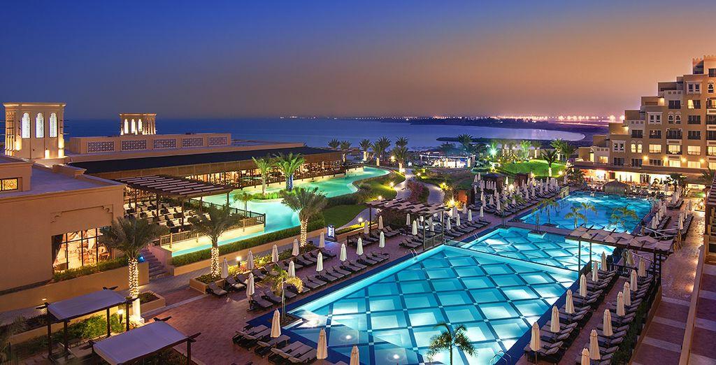 Bienvenido a Rixos Bab Al Bahr