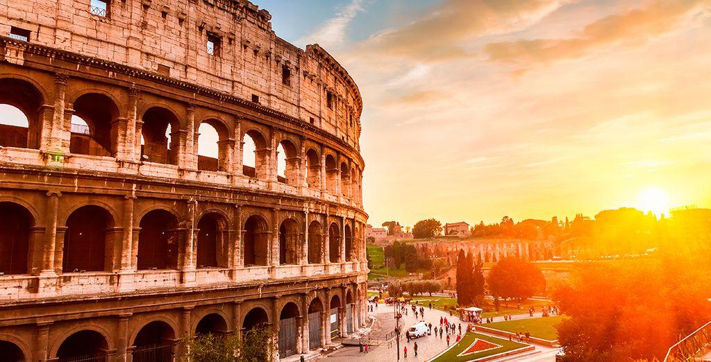 No te pierdas el inmenso Coliseo