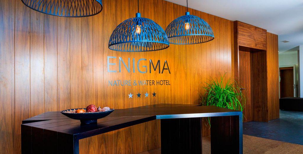 Un hotel exclusivo con una arquitectura contemporánea