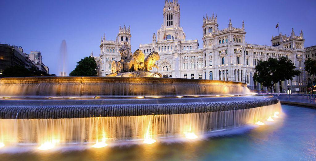 Disfruta de Madrid en el Hotel Eurostars Gran Madrid 4*