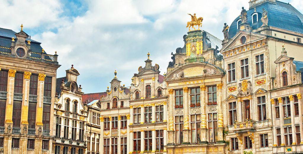 Modernas pero con un toque clásico, las calles de Bruselas están cargadas de encanto y de historia