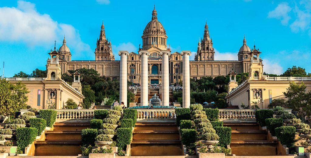 O el gran MNAC, el Museo Nacional de Arte de Cataluña