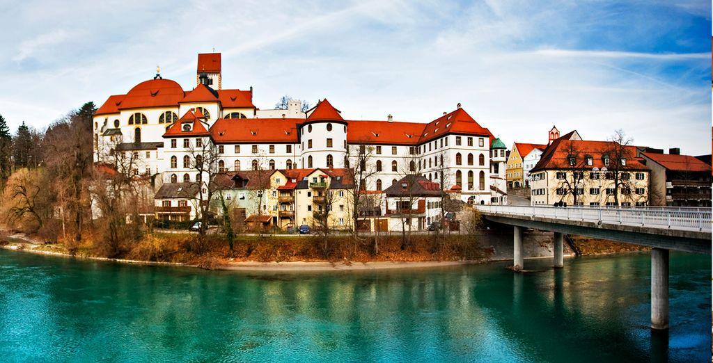Füssen, una romántica localidad repleta de casas burguesas