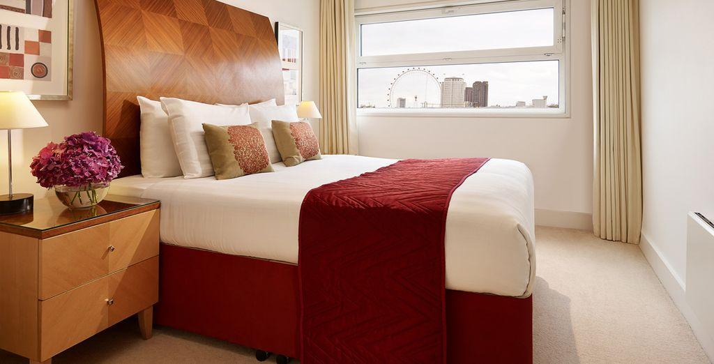 Descansa en tu apartamento de 1 habitación y coge energías para un día lleno de emociones por la capital londinense