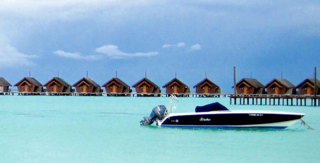 Visita islotes cercanos en lancha