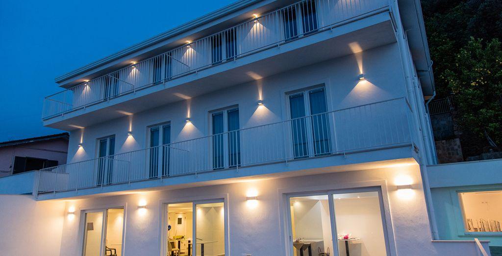 Un hotel de diseño moderno y actual