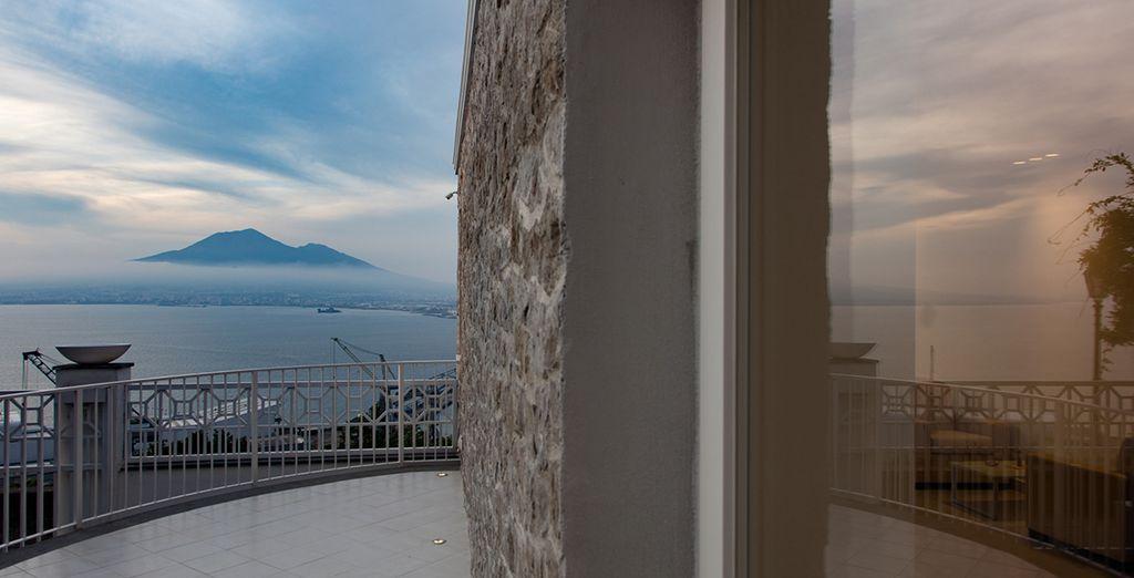 Una terraza perfecta para disfrutar de la panorámica
