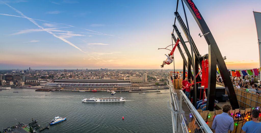 Actividades durante vacaciones vuelo más hotel a Ámsterdam