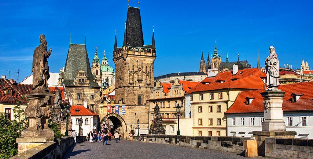 Tu primera parada será en la ciudad de Praga