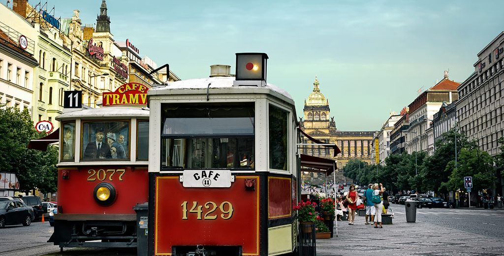 Deja que Praga te sorprenda