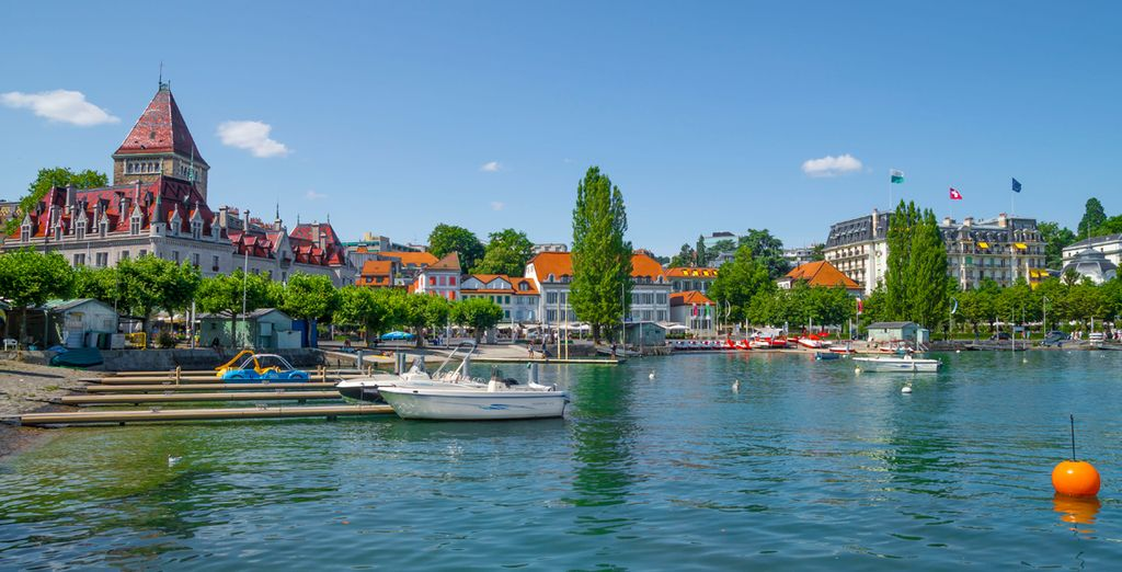 Lausana, una de las ciudades más activas culturalmente de Suiza
