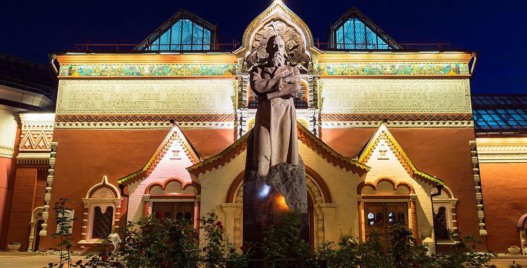 El quinto día podrás visitar, de manera opcional, la Galería Estatal Tretiakov