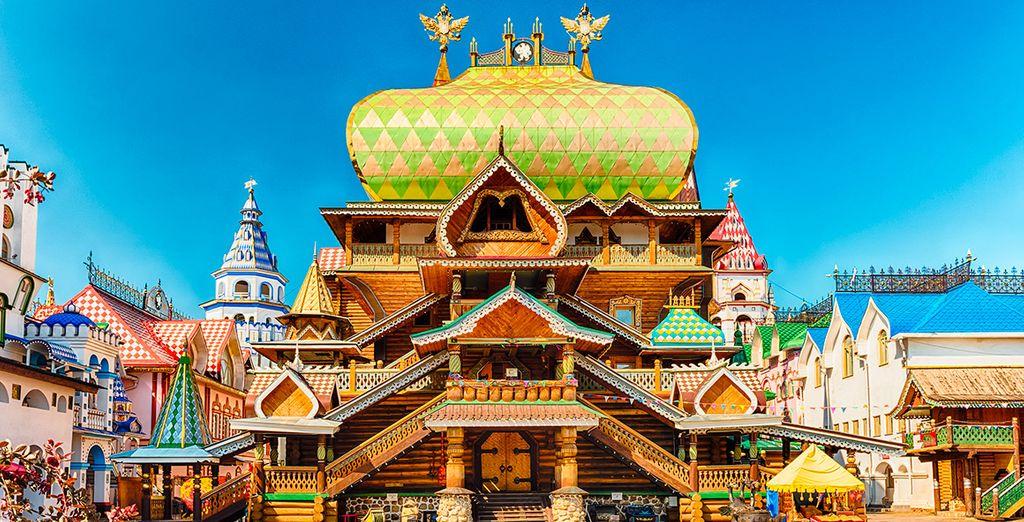 El séptimo día os acercaréis al Kremlin de Izmáilovo
