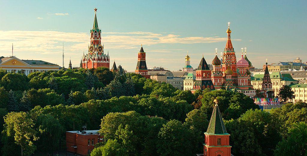 Tras un viaje en tren llegarás a Moscú