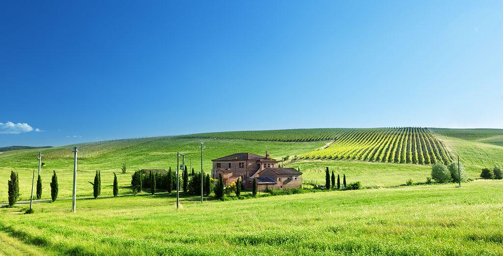 ...con paisajes increíbles...