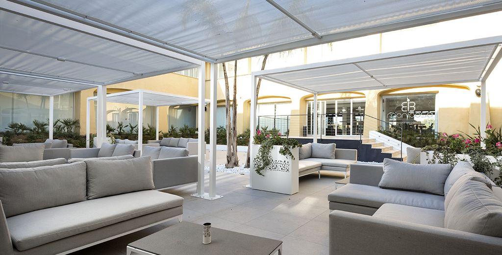 Una terraza perfecta para complementar tus vacaciones