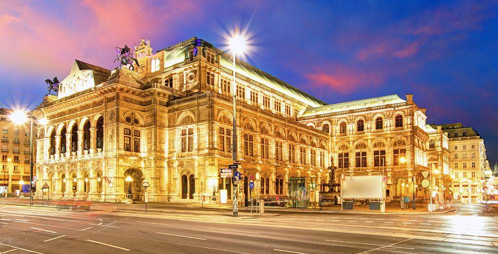 Viena State Opera House, uno de los edificios más emblemáticos de la ciudad