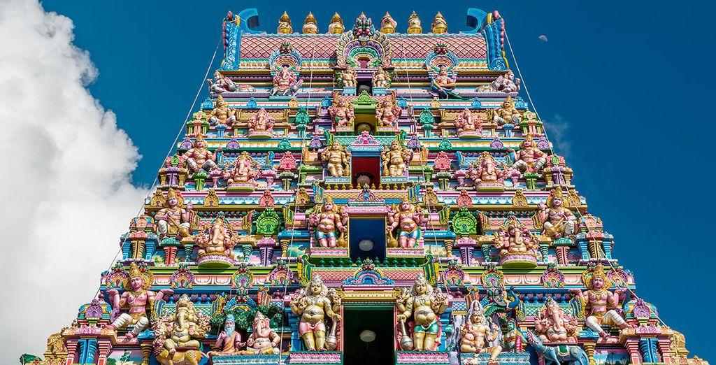 Descubrirás la historia y cultura de Seyshelles en la ciudad de Victoria, visitando Arul Mihu Navasakthi Vinayagar