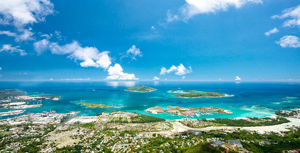 Bienvenido a la refrescante isla de Mahé, en Seychelles