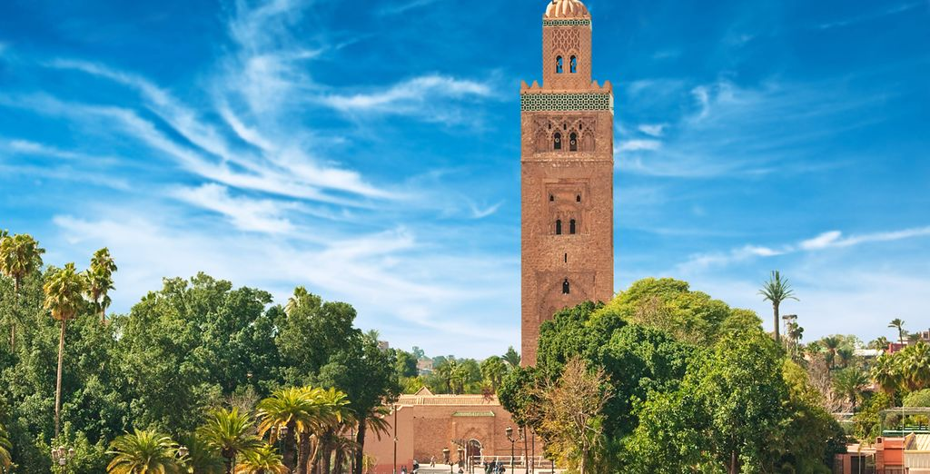 La Mezquita Koutoubia es la mezquita más importante de Marrakech