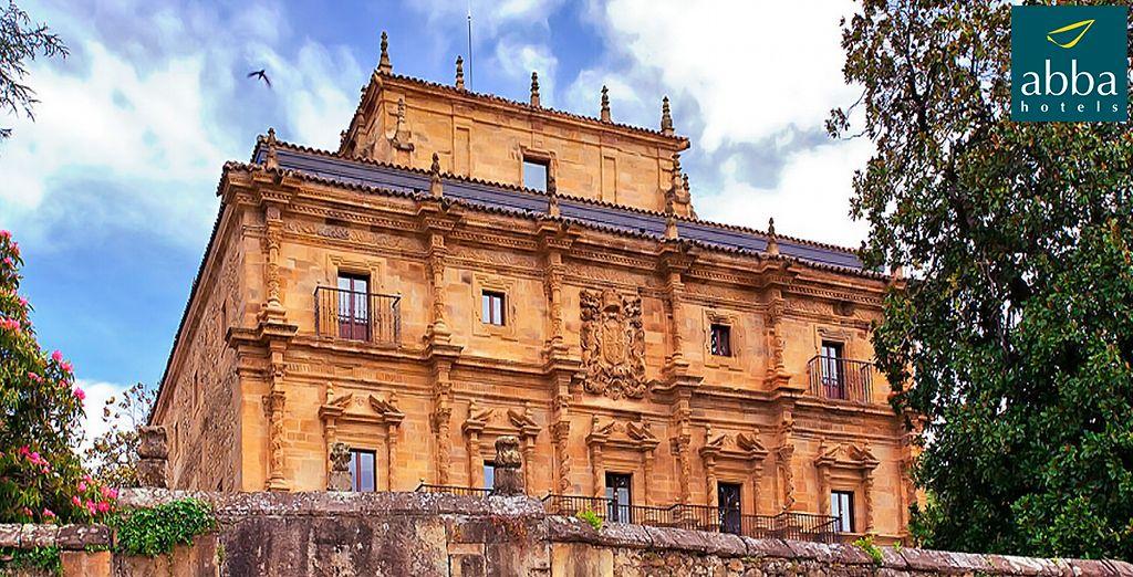 Bienvenido a Abba Palacio de Soñanes Hotel 4*, un palacio barroco construido a comienzos del siglo XVIII