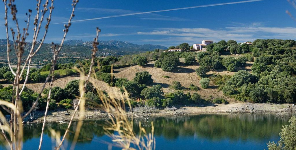 En el pequeño pueblo de Luras, en una de las zonas más bonitas de Cerdeña