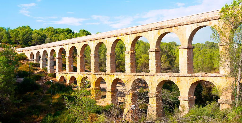 O el acueducto de les Ferreres, en Tarragona