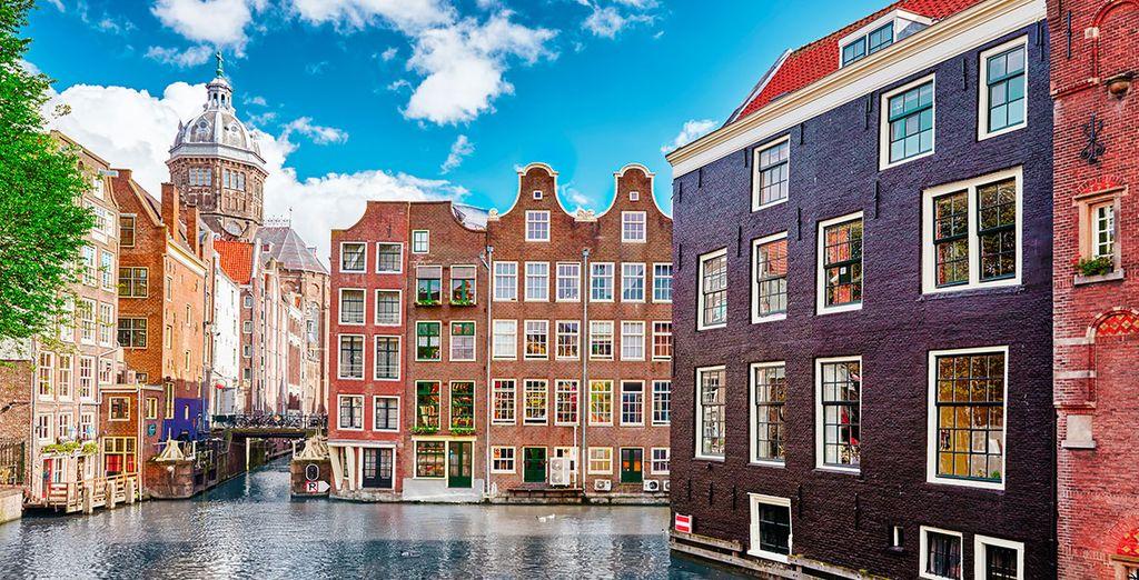 Ámsterdam y sus famosos canales