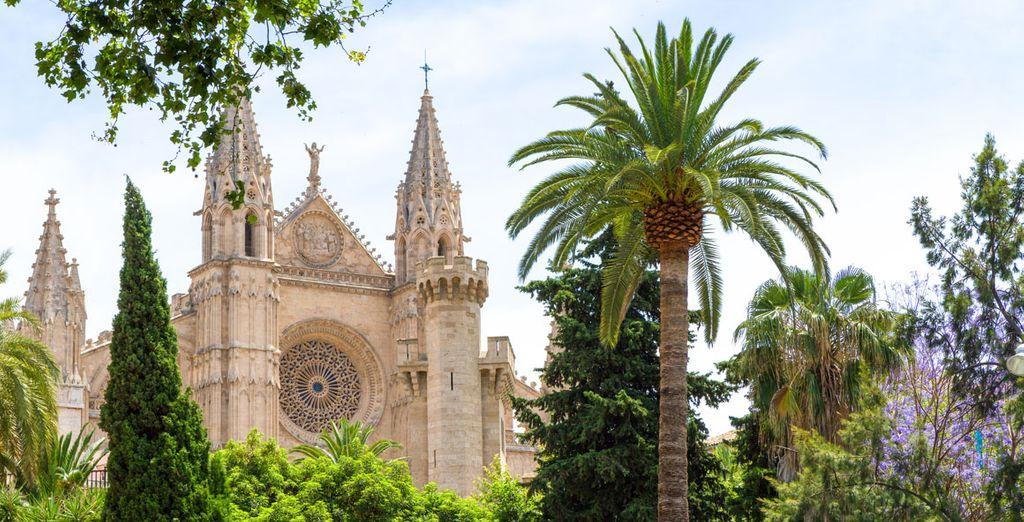 ... y visita su famosa catedral