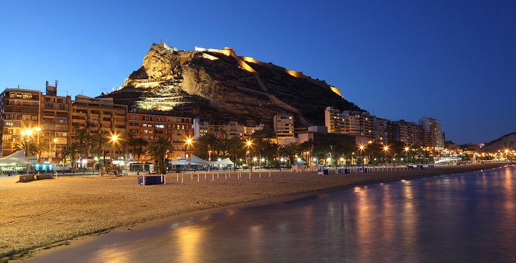 Acércate a la vecina Alicante