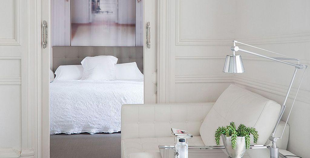 Un espacio cómodo y con una decoración exquisita