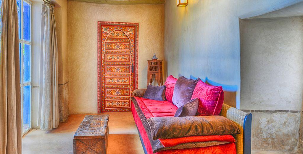 Lo que encontrarás en este hotel es la mezcla perfecta entre color, luz y olor a especias y azahar
