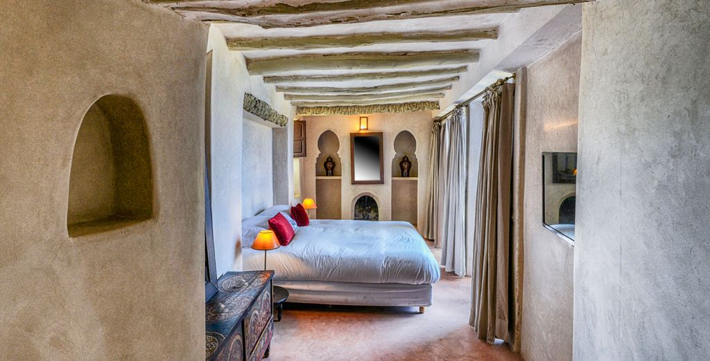El Hotel Caravan Serai está dotado de habitaciones donde la luz natural es la protagonista