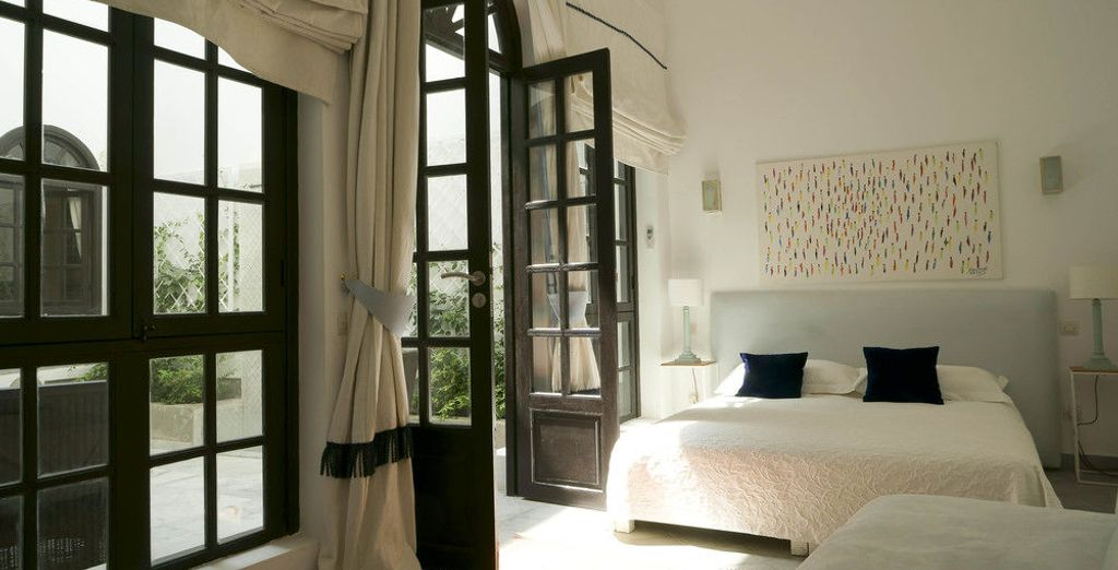 Podrás alojarte en la habitación Junior Suite de Riad Sapphire & Spa