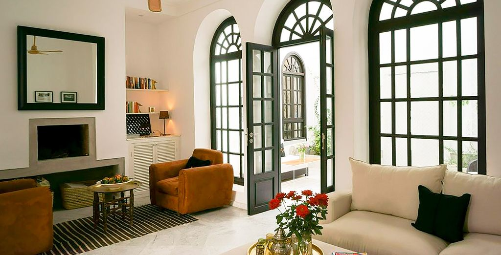 Riad Sapphire & Spa dispone de zonas comunes confortables