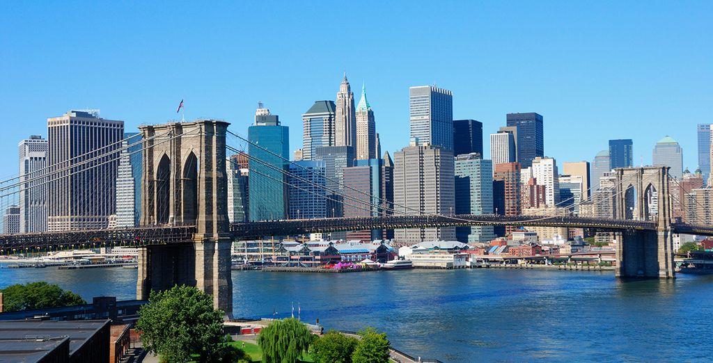 Contempla las magníficas vistas que la ciudad te ofrece