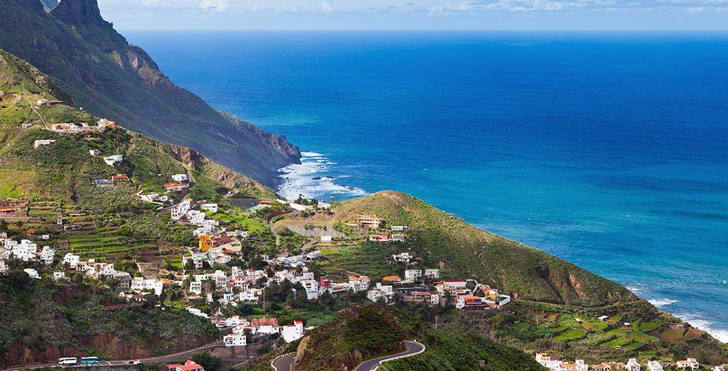 El Macizo de Anaga es la parte más antigua de la isla