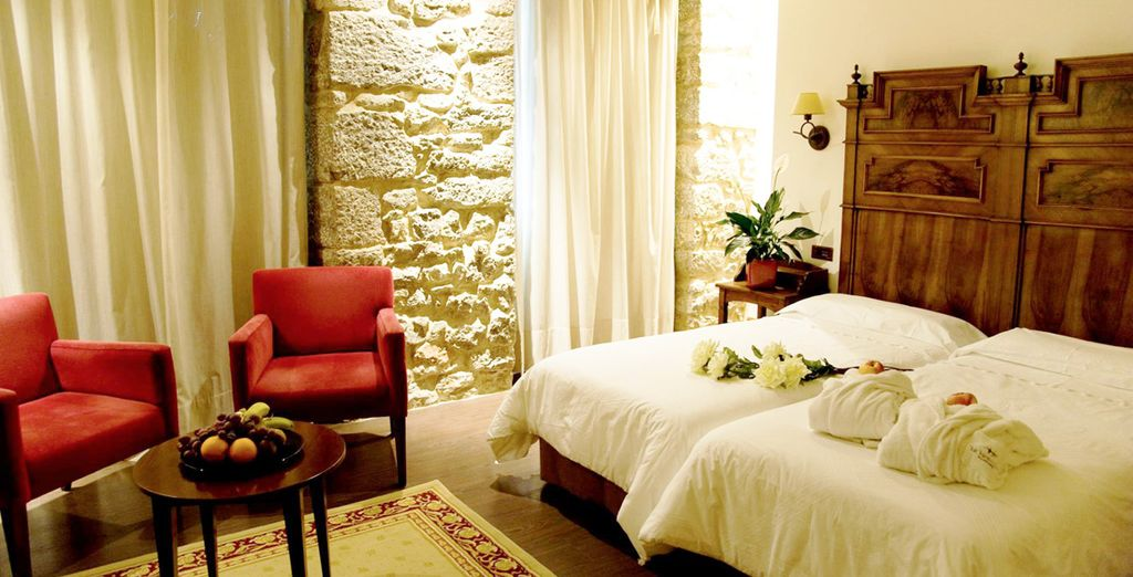 Goza del mejor descanso, descansarás en una moderna habitación o una tradicional según disponibilidad
