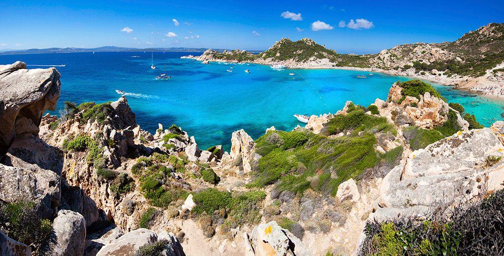 Visita las maravillosas playas de Cerdeña...
