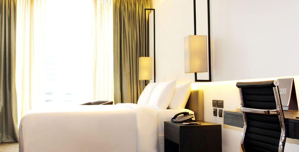 Te presentamos tu exquisita habitación Deluxe