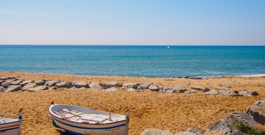 Siente la paz y el placer de sentirte solo en la playa