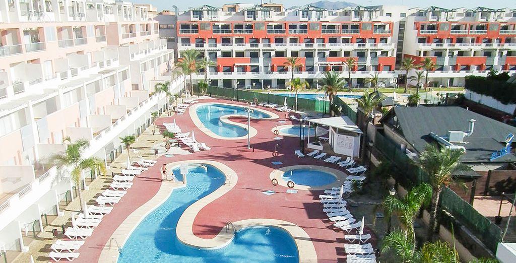 Bienvenido al Aparthotel Marina Rey