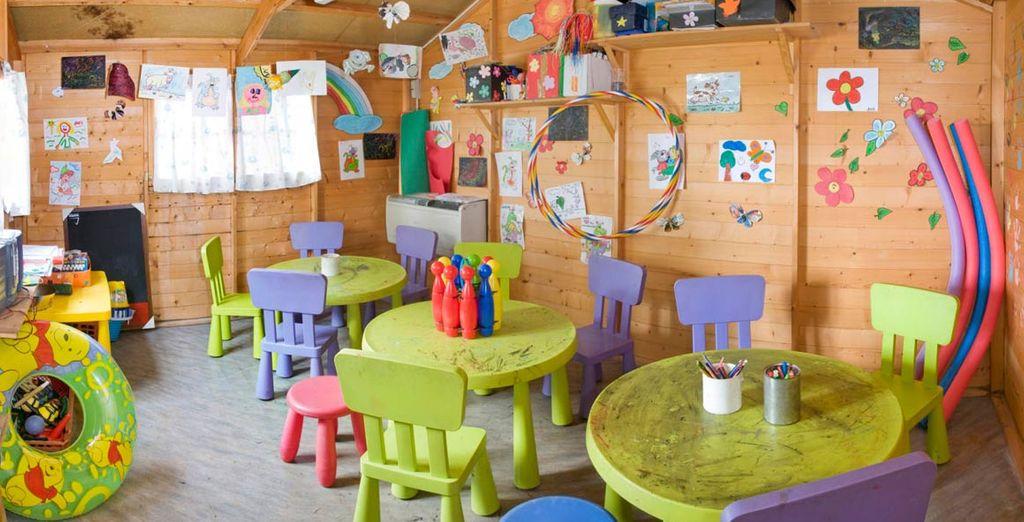 Una zona especial para los niños
