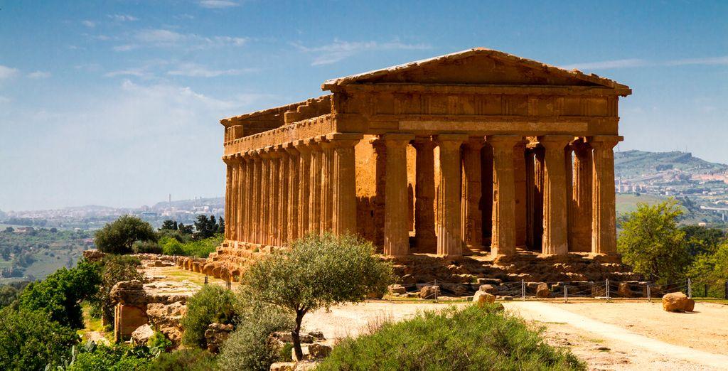Descubre la huella de la historia en Agrigento