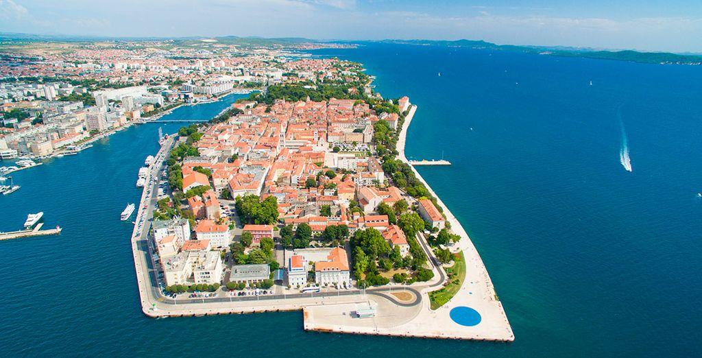 Deja volar tu mente a la bella Zadar