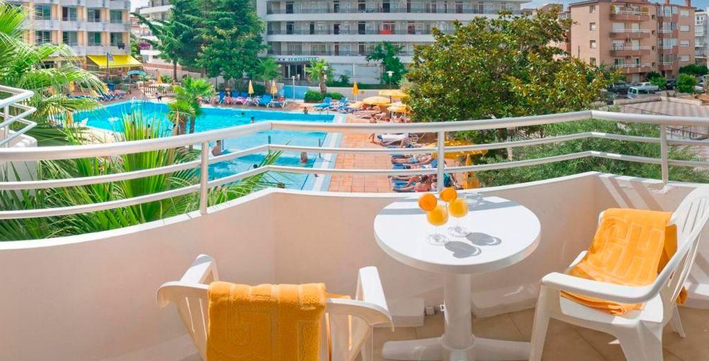 Sal a tu balcón y disfruta del buen tiempo